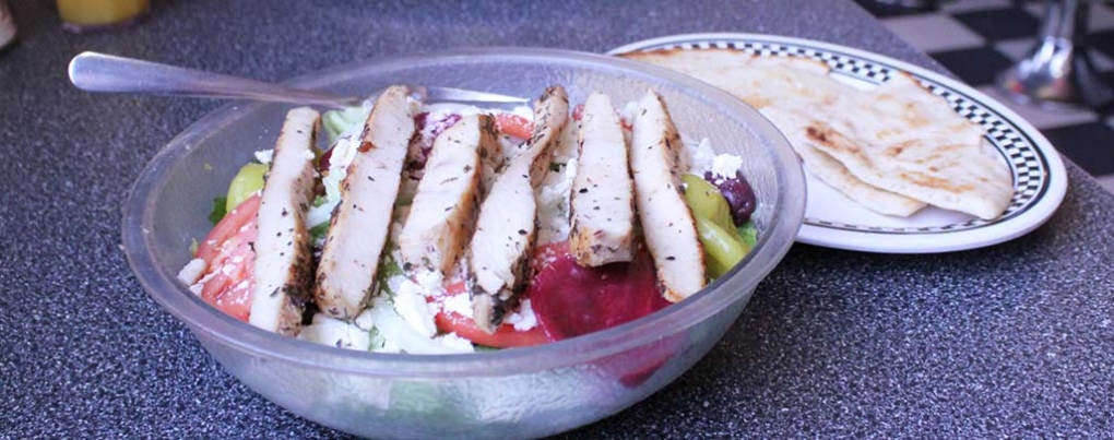 Try our Greek Salad!