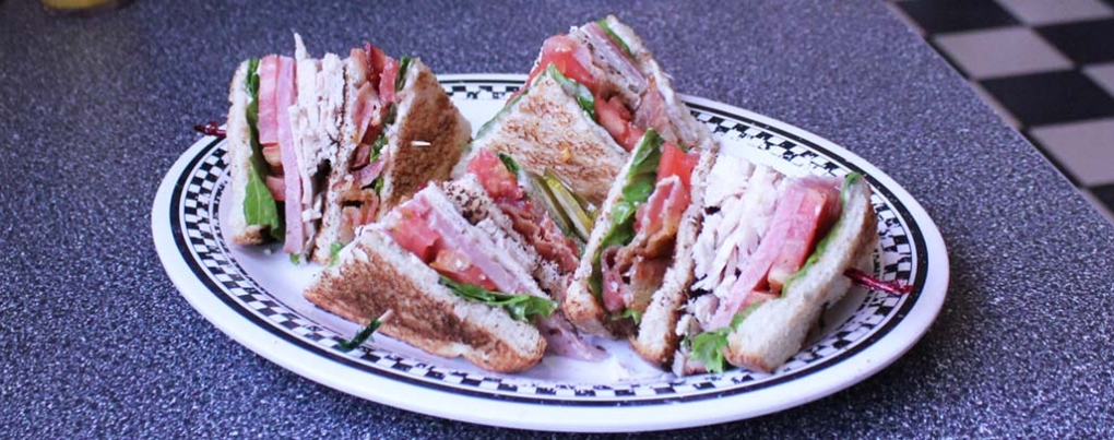 Have a Club Sandwich for Lunch!